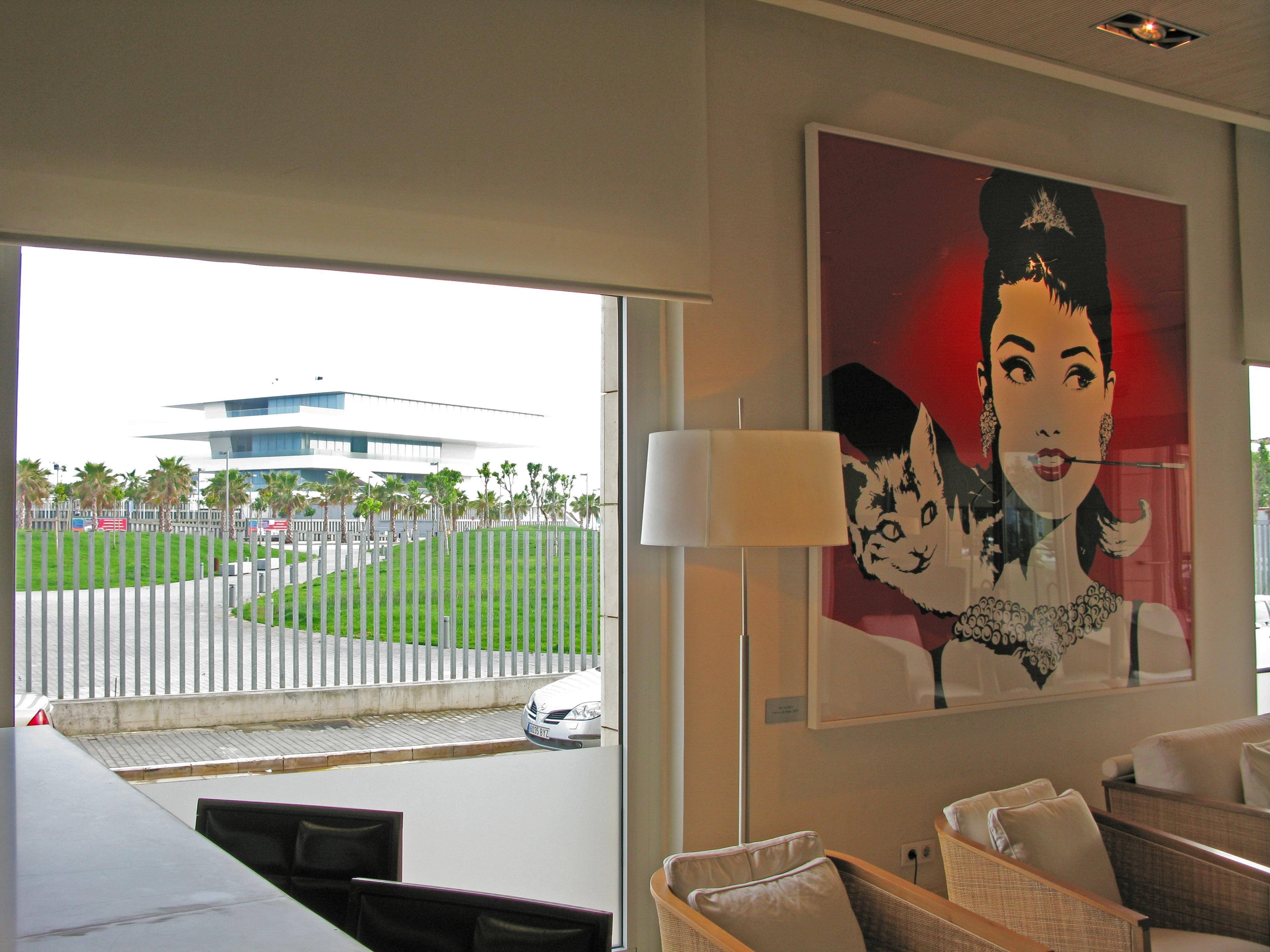Hall At Neptuno Hotel In Valencia Vakantie Spanje