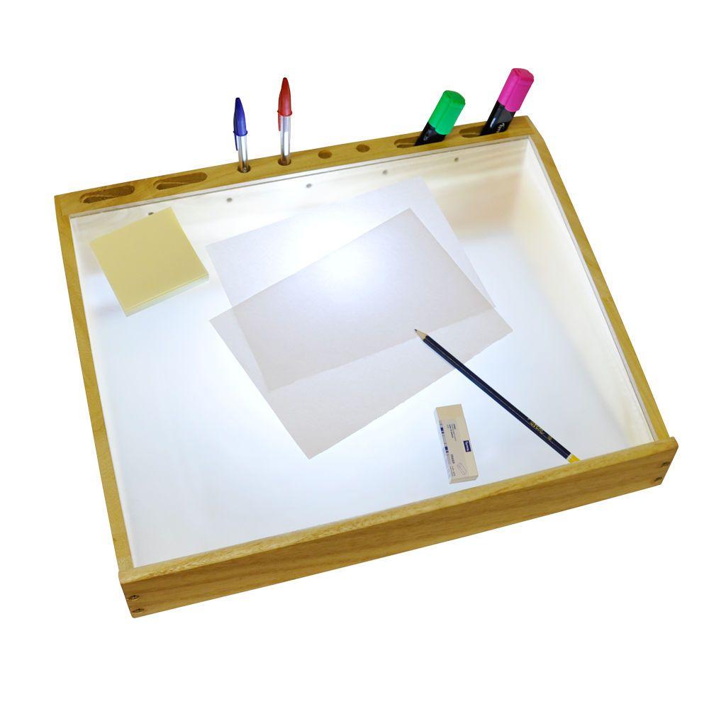 Craft light box for tracing - Art Craft Lightbox A3 Drawing Photo Tracing Daylight Cfl Bulb Light Box Design