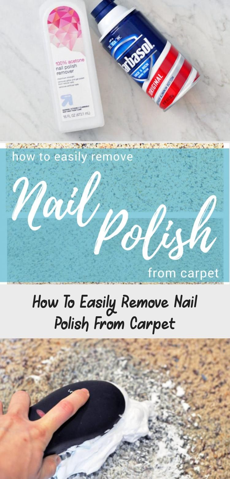 How to easily remove nail polish from in 2020 nail