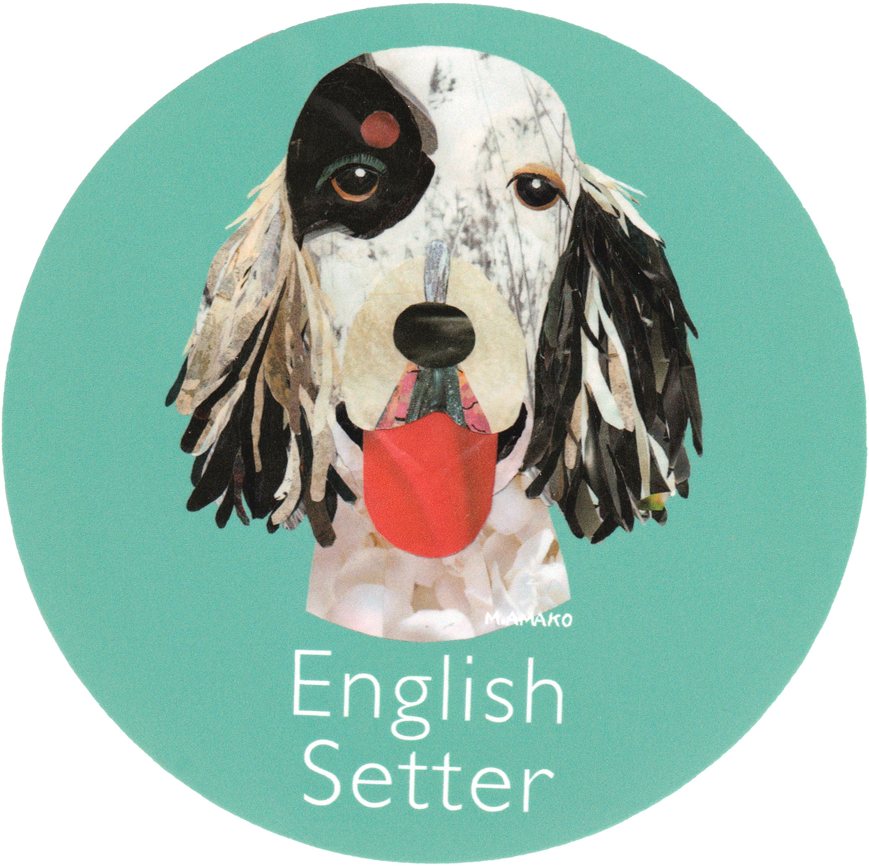 マイ @Behance プロジェクトを見る : 「010 | English Setter」 https://www.behance.net/gallery/42194939/010-English-Setter