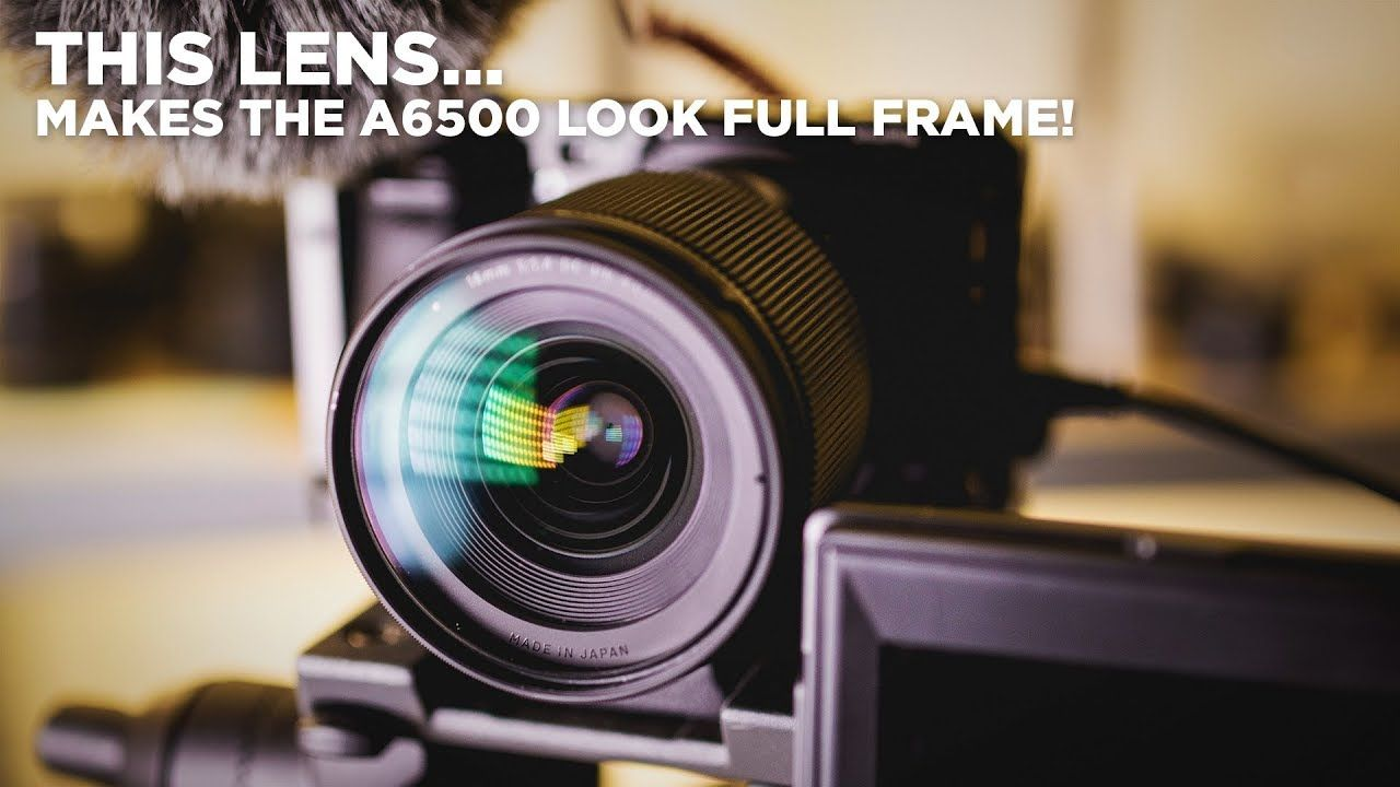 This Lens Makes The A6500 Look Full Frame Sigma 16mm F1 4 Dc Dn Sigma Camera Hacks Sigma Lenses