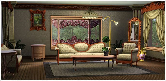 Storybook Living Room Set - Store - The Sims™ 3 | Sims 3 sets ...