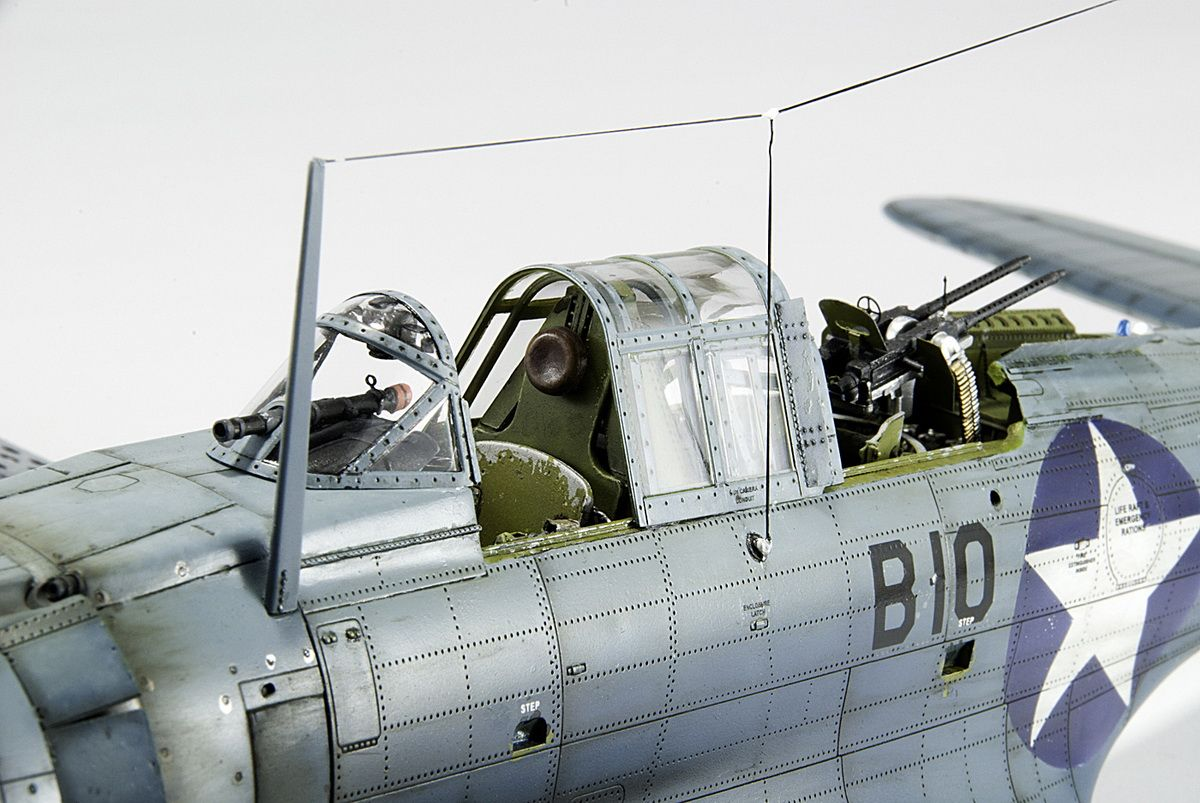 SBD-3 Dauntless 1/32 Scale Model