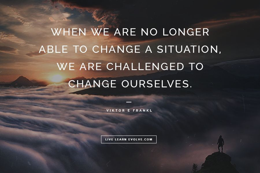 Personal Development Quotes When We Are No Longer Able To Change A Situation We Are Challenged .
