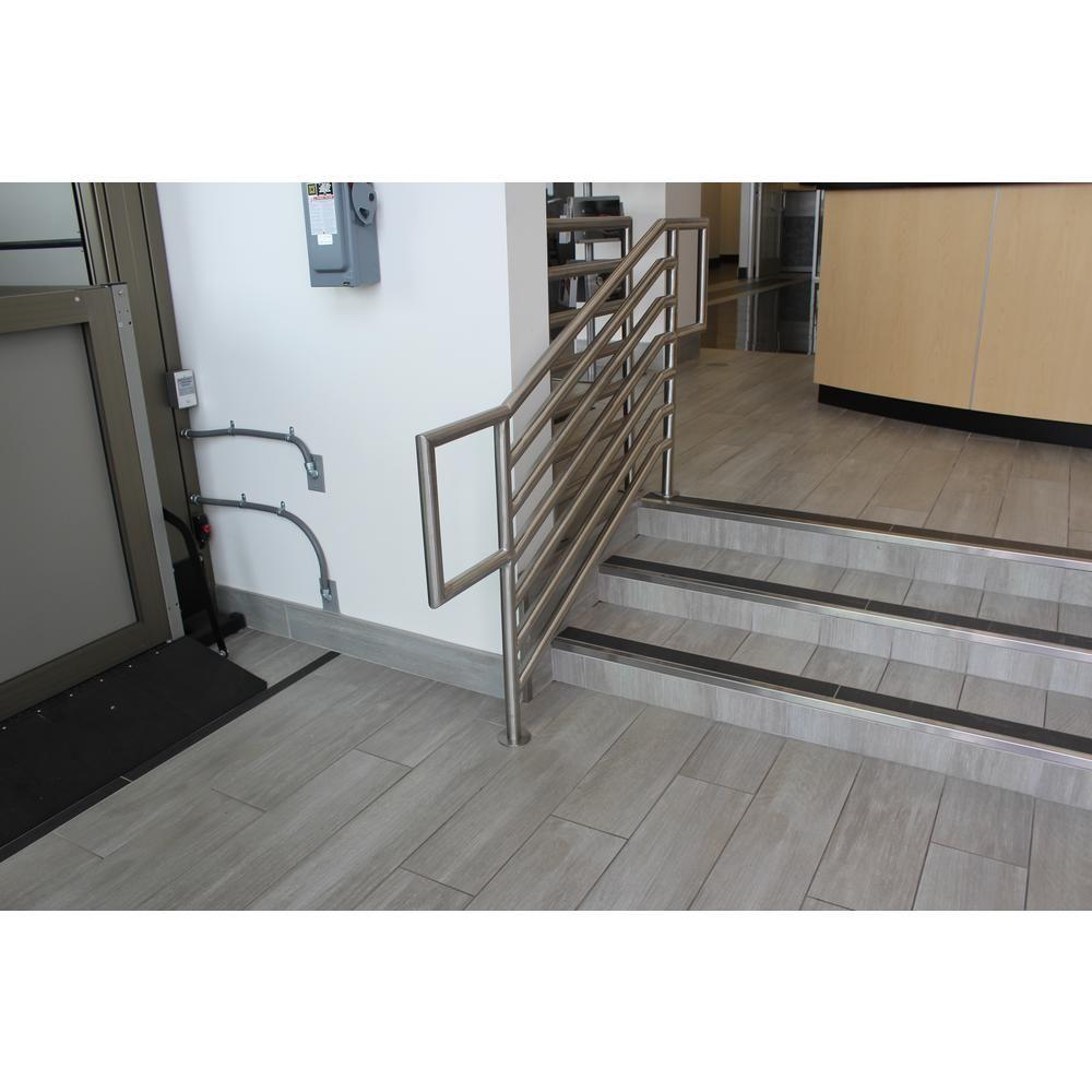 metal stair edging home depot