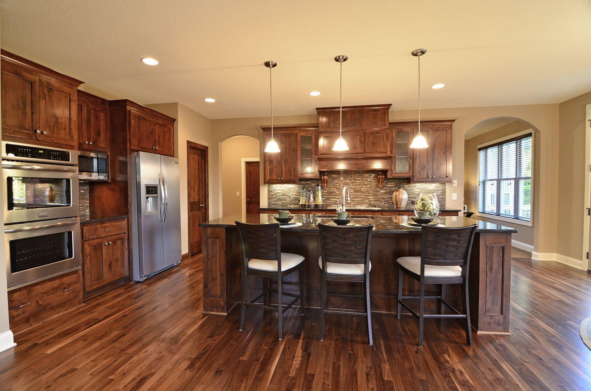 Java Cabinets Walnut Flooring