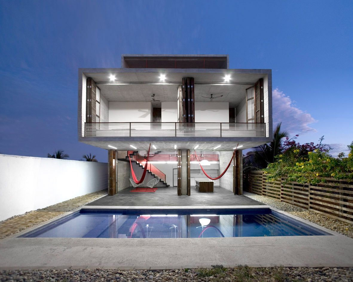 modern house plans with swimming pool Modern House