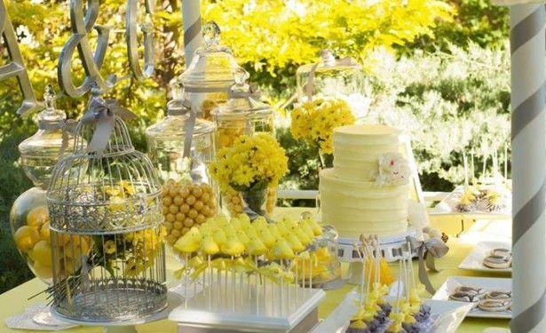 Wedding Decoration Ideas Cream And Yellow Wedding Decorations With