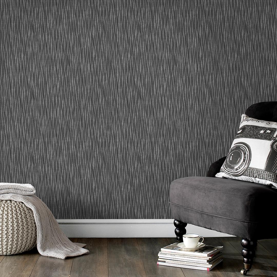 Shop Pattern Black, silver wallpaper, Silver wallpaper