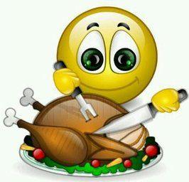 Thanksgiving Turkey smile