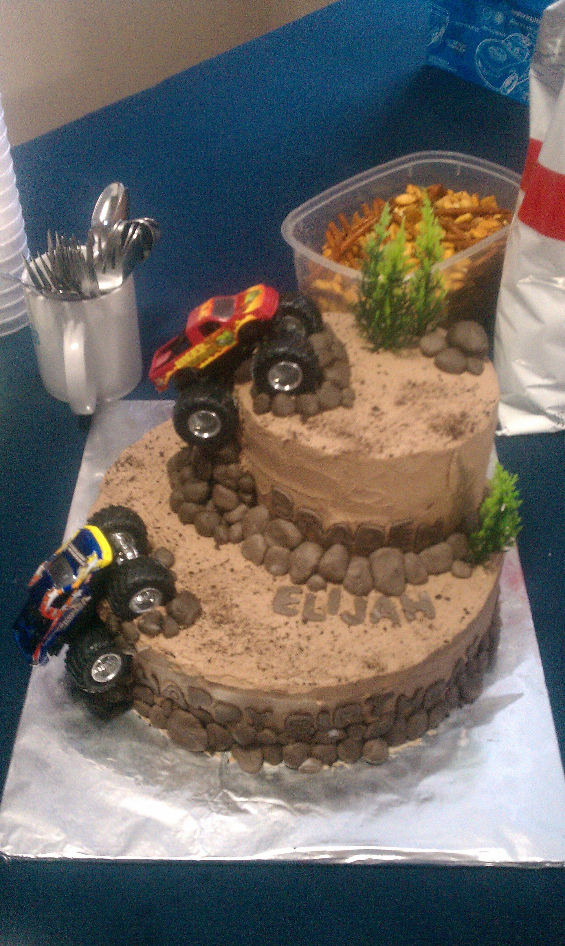 Monster Truck Cake For Ry Guy Pinterest Truck Cakes Monster