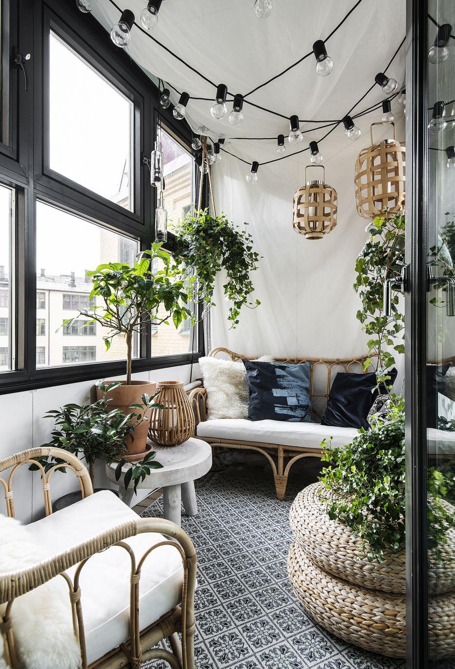 Photo of Cet appartement de 57m2 situé dans une ancienne usine possède un jardin d'hiver – PLANETE DECO a homes world