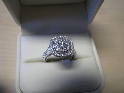 Jared Neil Lane 14k White Gold Diamond Engagement Ring 14k White Gold Diamond Engagement Ring Lane Engagement Rings Engagement Rings