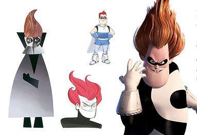 Incredibles Buddy Pine Syndrome Disney Art The Incredibles Pixar Concept Art