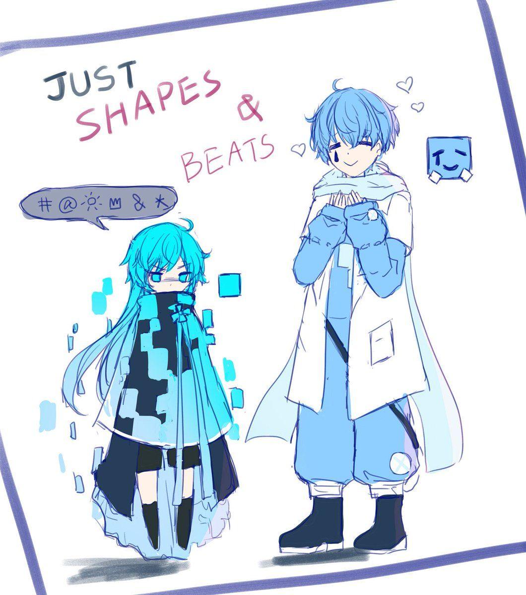 Resultado De Imagen Para Just Shapes And Beats Fanart Fan Art Anime Shapes