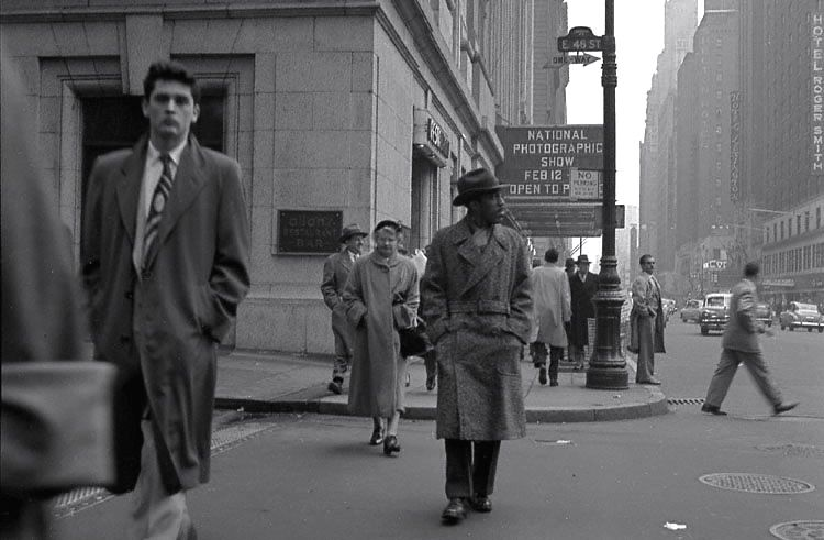 Lexington Avenue New York ca.1952 Photo: Frank Oscar ...