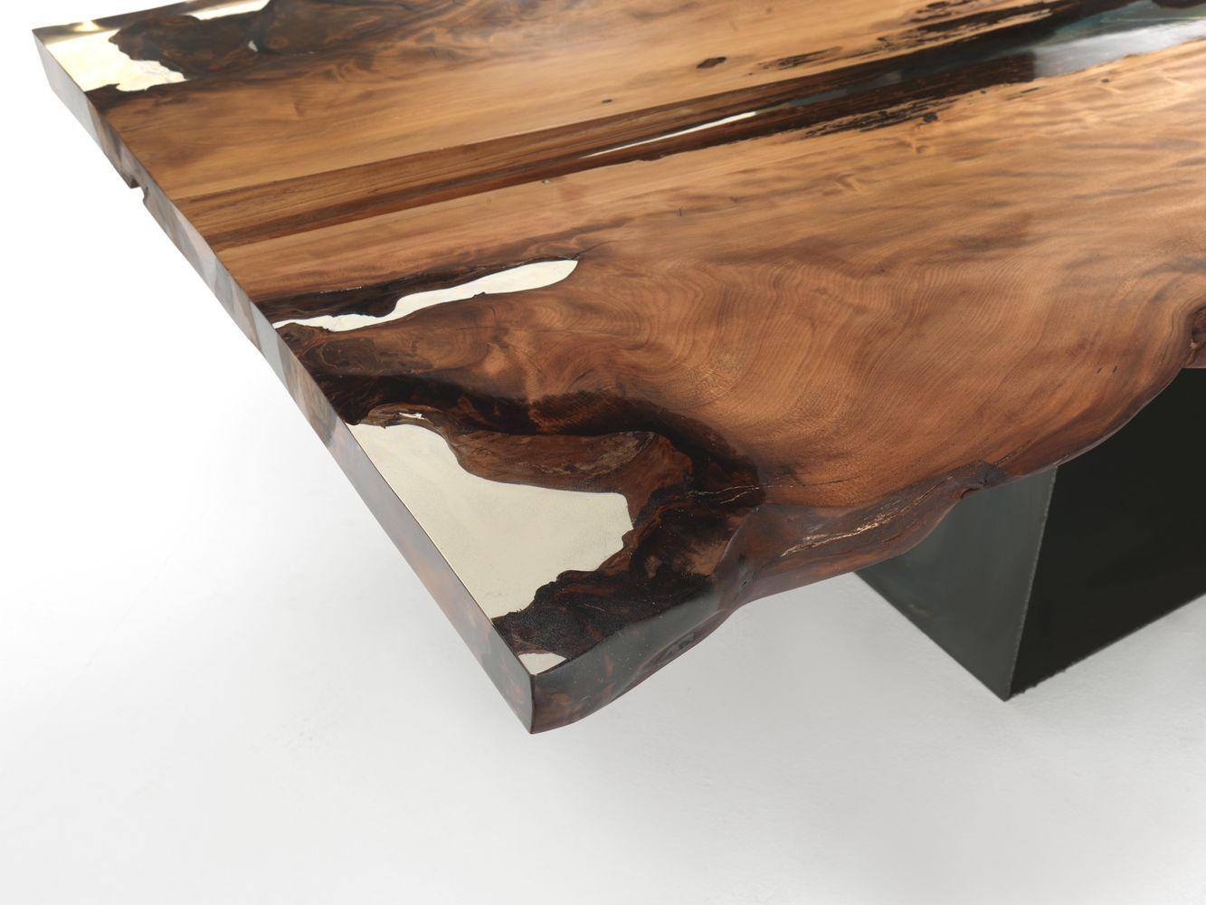Ceppo Di Legno Tavolino riva1920 - tavolo cube kauri c.r. & s | tavolini in legno