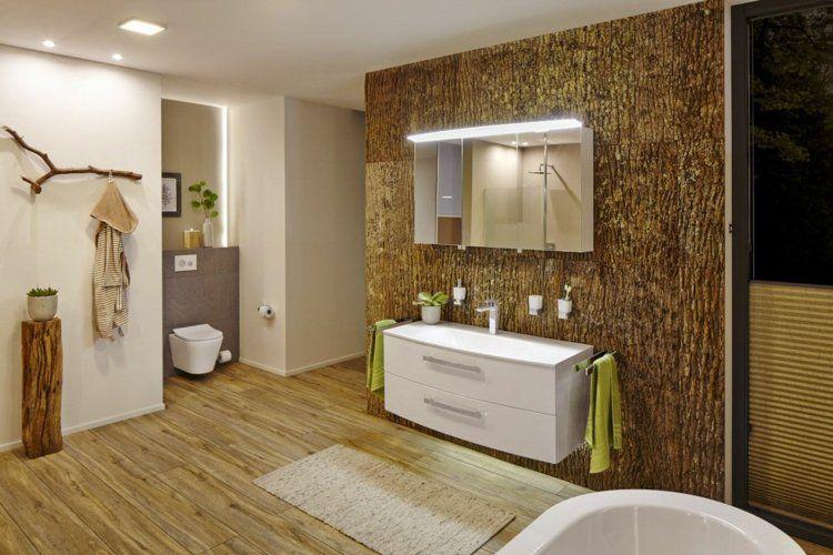 Badezimmer Naturoptik