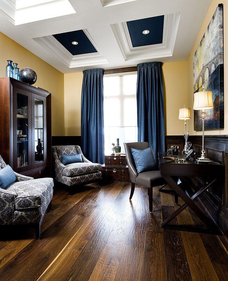 Home Offices Jane Lockhart Interior Design Decorating Ideas Interesting Blue Interior Design Model