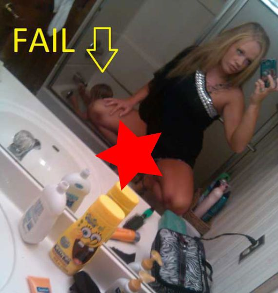 Epic mom fails selfie