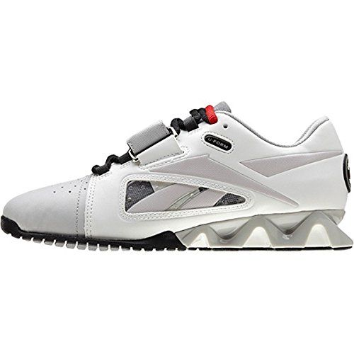 55b62364b66f6b Reebok Womens Women s Fitness and Cross-Training ShoesFit Lifter OLY UForm  Shoes in WhiteSteelGravelBlack Size 10     More info could be found at the  image ...