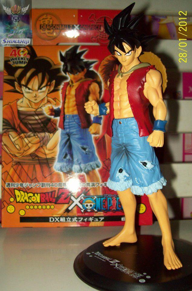 Goku Version Luffy Dragones Arte De Anime Dragon Ball Z