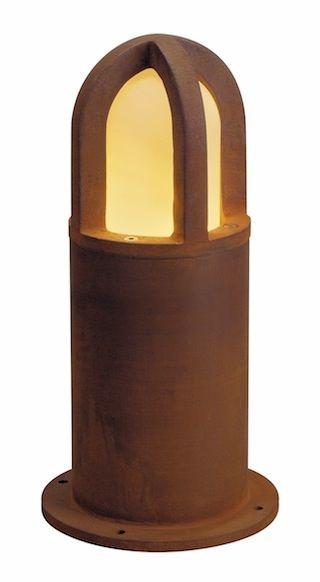 SLV Lighting Exterior Bollards - Rusty Cone 40 LED / 70 LED