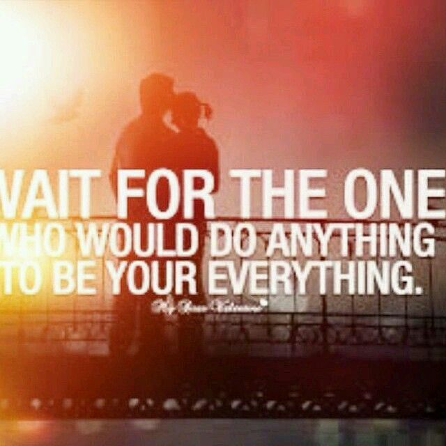 Dont settle for anything less.   Lovely quote, Quotes
