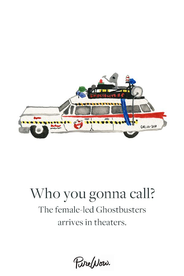 The new Ghostbusters movie hits stores in July, featuring vets like Melissa McCarthy and Kristen Wiig, we can't wait.