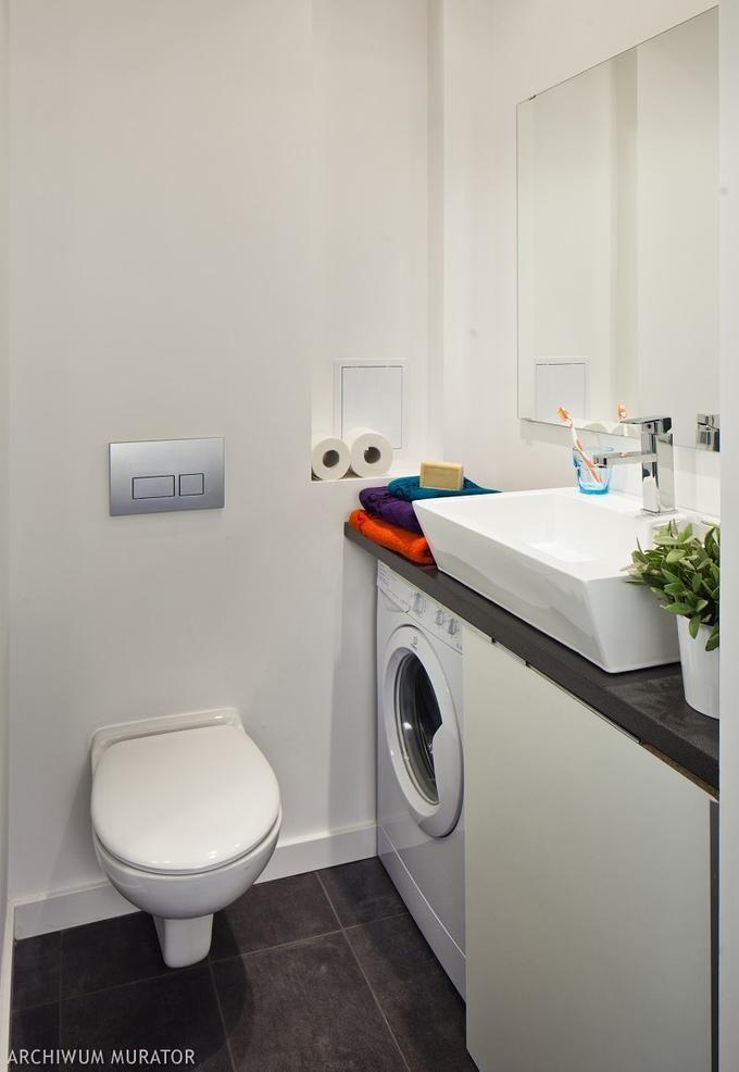 how to hide washing machine   Small bathroom, Washing ... on Small Space Small Bathroom Ideas With Washing Machine id=59373