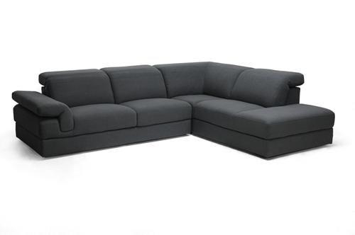 Liesel Dark Gray Modern Sectional Sofa