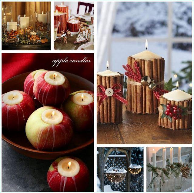 Inspírate en la naturaleza para decorar tu casa esta Navidad ...