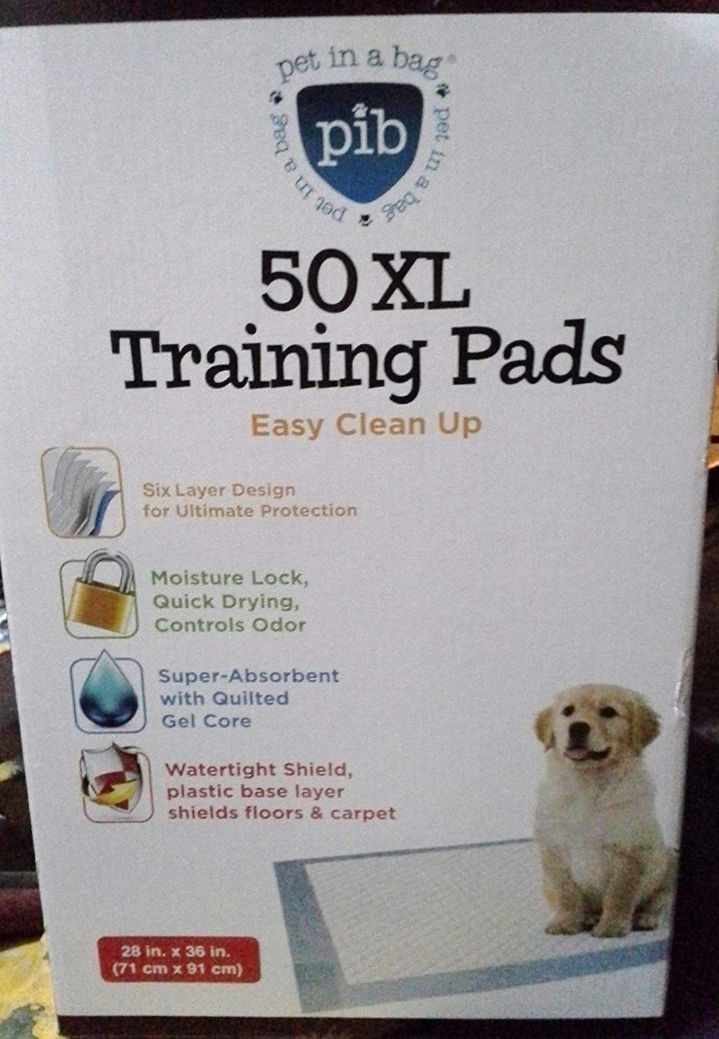 Big Stinkers X Large Thick Dog And Puppy House Breaking Pads 50pk