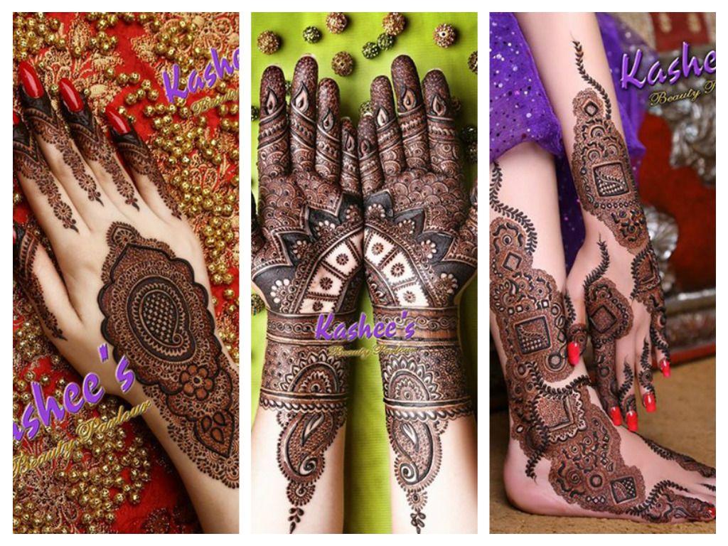 Latest Bridal Mehndi Designs By Kashee's 2016-17