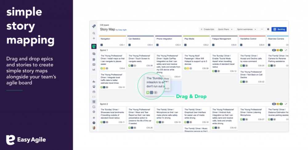 Easy Agile User Story Maps For Jira Atlassian Marketplace With User Story Word Template 11 Template Ideas User Story Mapping Agile User Story Story Map