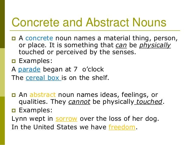 Concrete Nouns With Images To Share Google Search Teaching