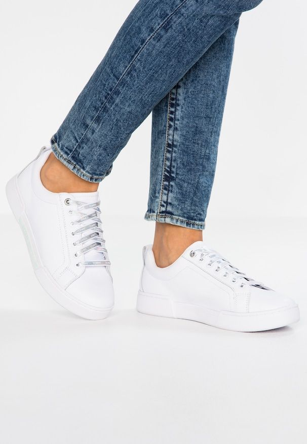 Iridescent Fashion Sneaker Low White @ from