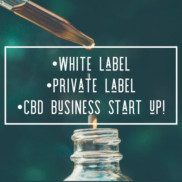 White Label CBD Oil Products (Private Labeling