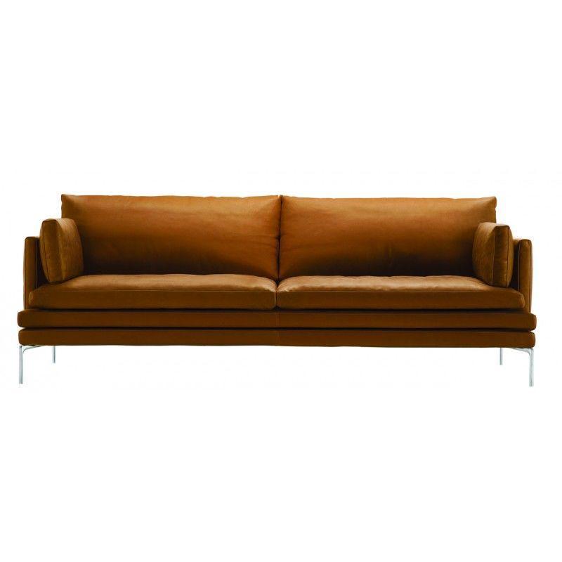 William Sofa 2 Sitzer In 2019 Sofas Sofa Sofa Leder Modernes Sofa