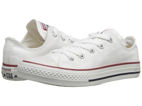 27c1ad665e61 Converse Kids Chuck Taylor® All Star® Core Ox (Little Kid) Optical White -  Zappos.com Free Shipping BOTH Ways