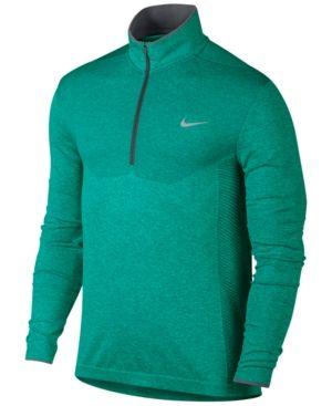 646ad1f62c Nike Men's Performance Half-Zip Golf Shirt - Green 2XL | Products ...