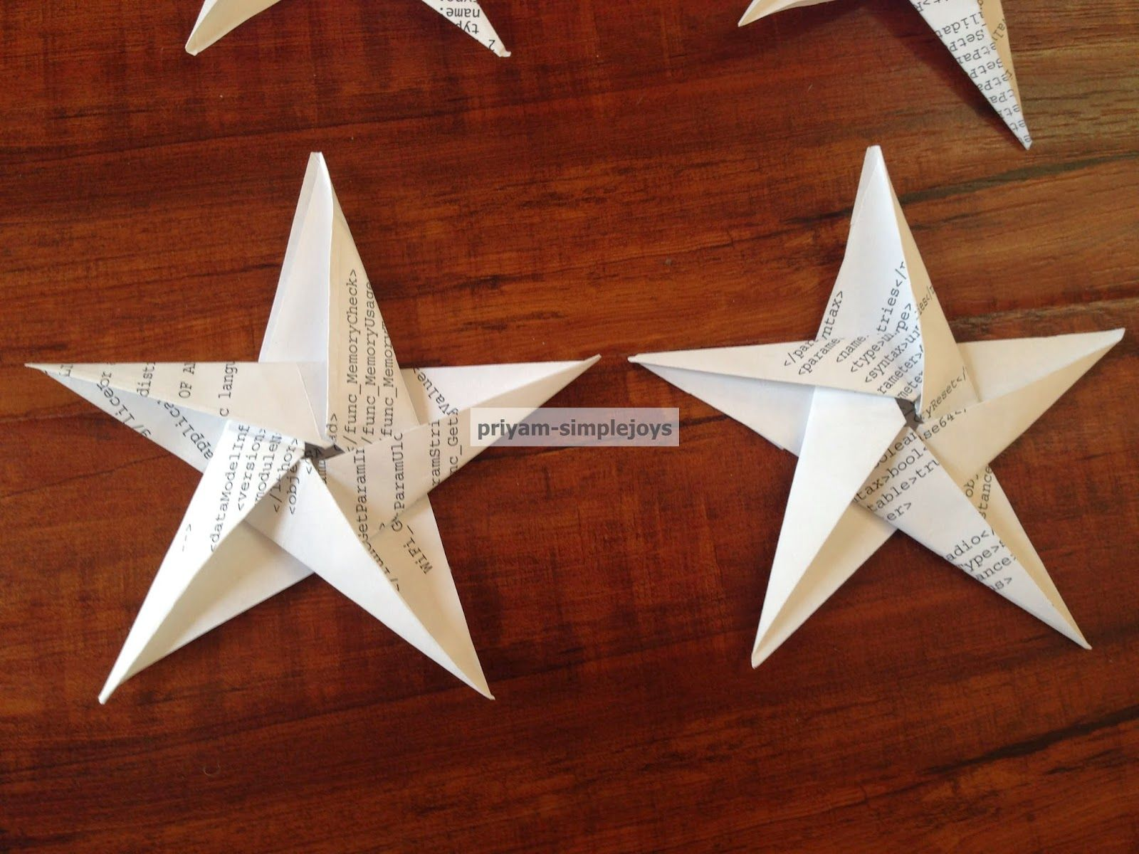 SimpleJoys: Origami Star