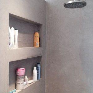 Leuk idee voor in de douche, een nis voor al mijn douche-stuff :) Of ...