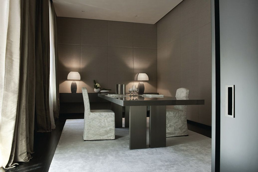 Interior Design Service Armani Casa Dining Room Furniture Modern Interior Design Interior