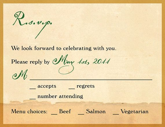thanks for finally writing about invitations and wedding rsvp timeline and how to reply to - Wedding Invitations Rsvp
