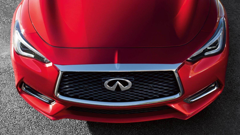 2018 INFINITI Q60 Coupe doublewaved hood Coupe