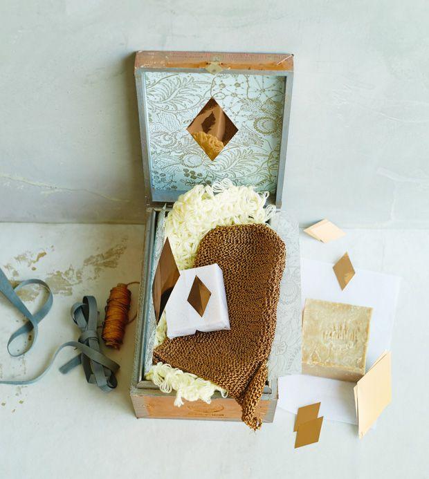 geschenkidee hamam set selber machen diy geschenke pinterest. Black Bedroom Furniture Sets. Home Design Ideas
