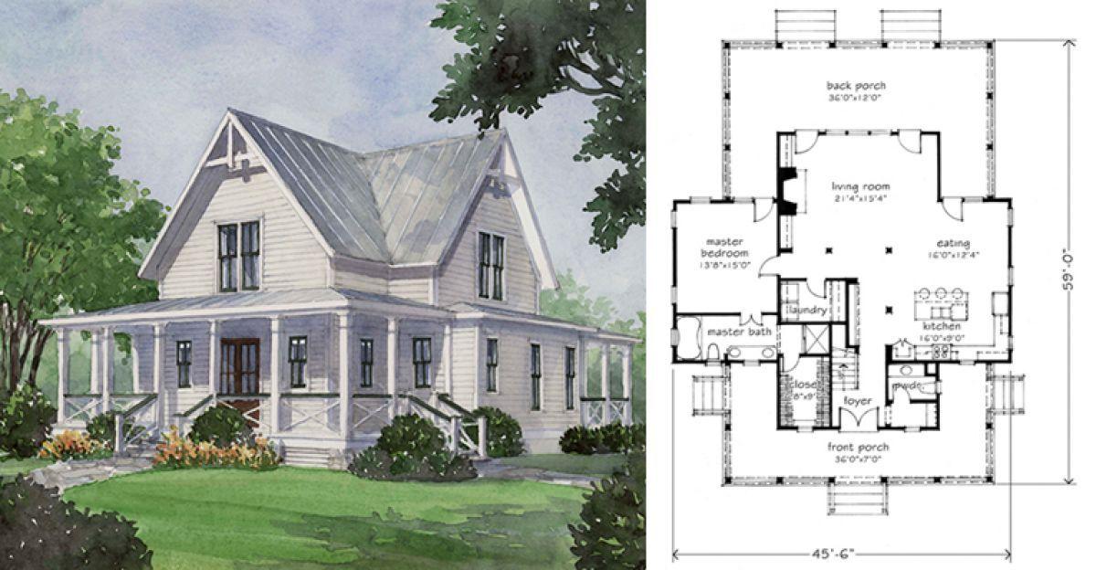 Build The Perfect Farmhouse With These 6 Gorgeous Layout Ideas Vintage House Plans Dream Beach Houses Farmhouse Layout