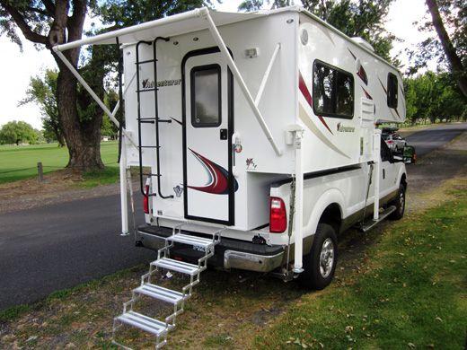 2014 Adventurer 80rb Rv Truck Campers Light Enough For