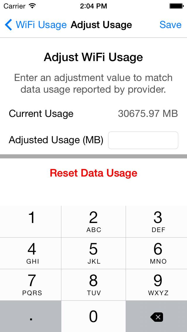 iPhone App Data Monitor Pro - Control Data Usage in Real Time
